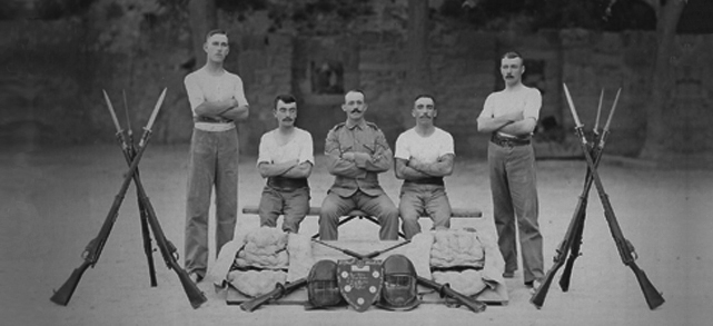 Photo from the army bayonet fighting competition malta 1905.jpg